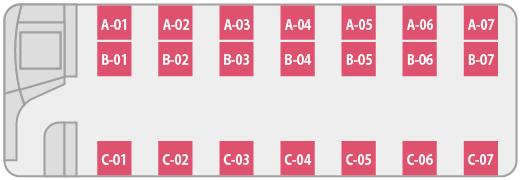 【NAX00120】NA25Q Quality Express 市川23:00発-新宿24:00発⇒東岡崎・三河豊田・名古屋南 2×1maximo【2×1 maximo<ワンマン>】